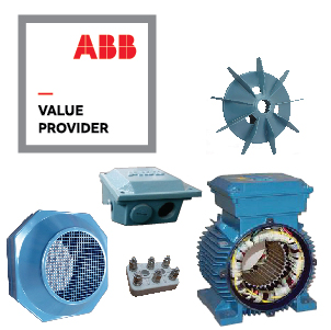 ABB electric motor spare parts