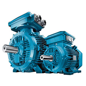 ABB cast iron electric motors