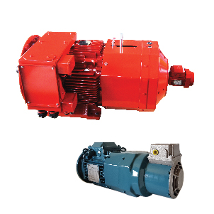 ABB motors with forced cooling