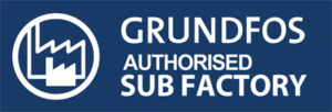 GUNDFOS Autherised Sub Factory logo