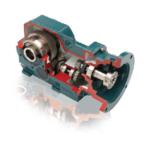 Dodge Quantis Right-Angle Helical Bevel gear reducer