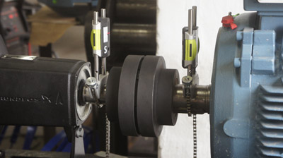 Laser alignment for couplings