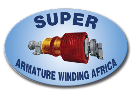 old super armature winding logo