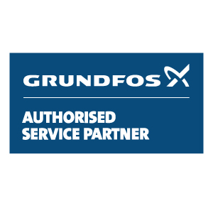 Grundfos authorised service partner logo