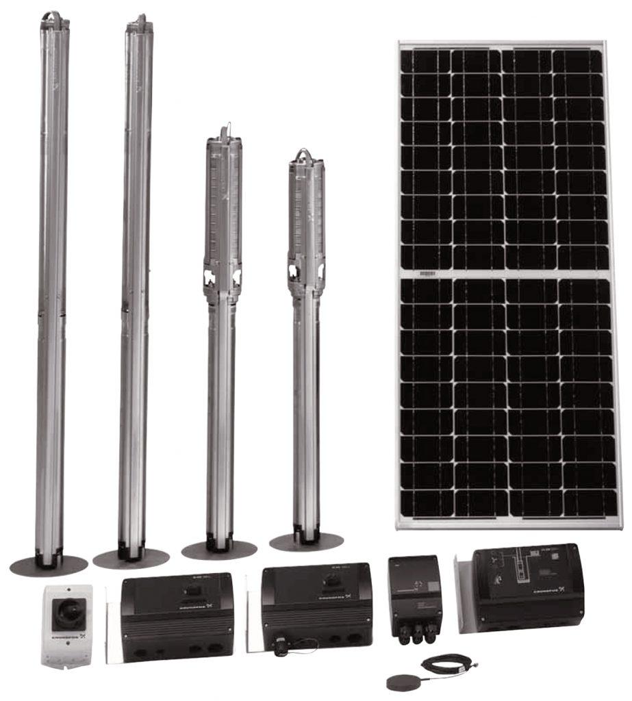 Grundfos_SQFlex_solar_borehole_pump_range